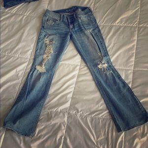 Blue jeans - stretch